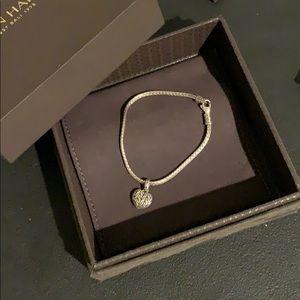 John Hardy Heart Bracelet